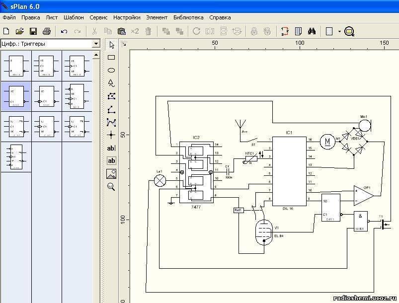 20 лучших программ для построения электрических схем