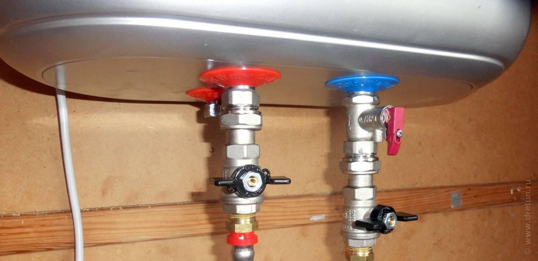 Обратный клапан для водонагревателя - схема работы и особенности монтажа +видео