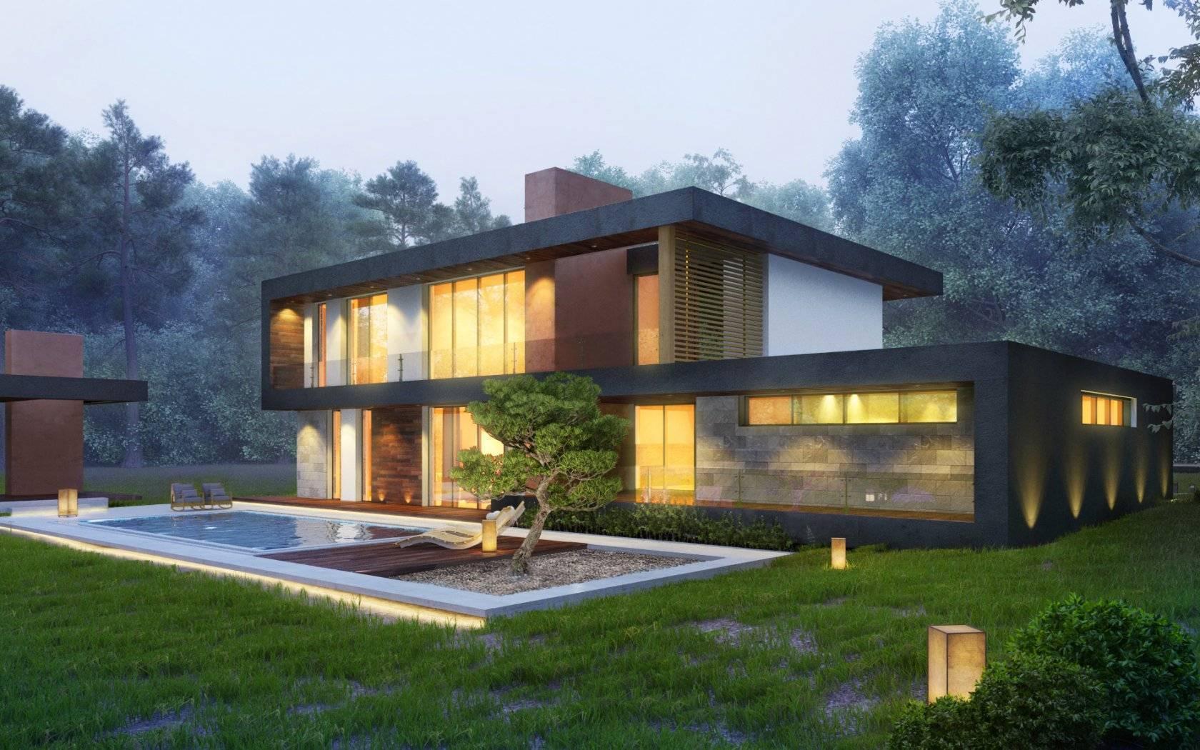 Архитектура и дизайн домов: современные идеи | gd-home.com