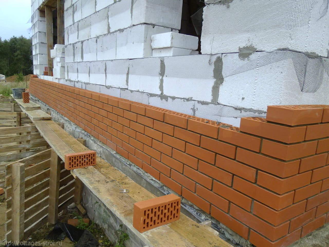 Чем обшить дом снаружи из пеноблоков: варианты внешней отделки фасада (фото)