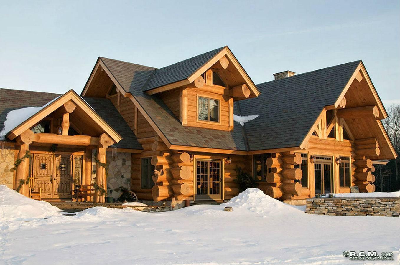 Из чего построить дом недорого