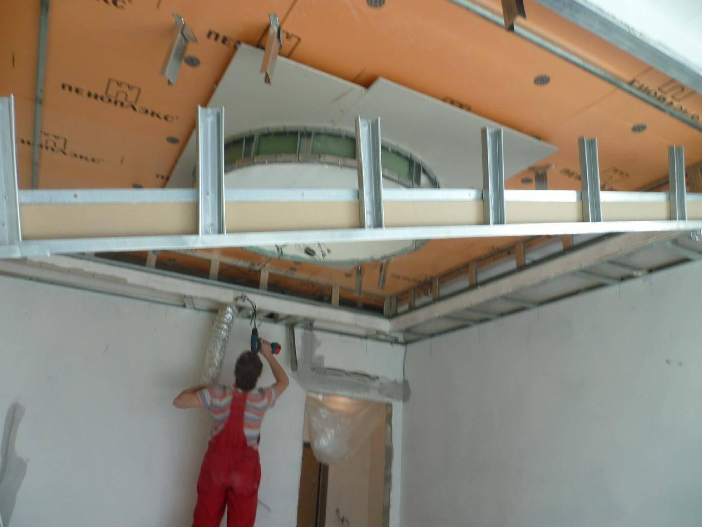 Как разобрать гипсокартонный потолок и стоимость демонтажа