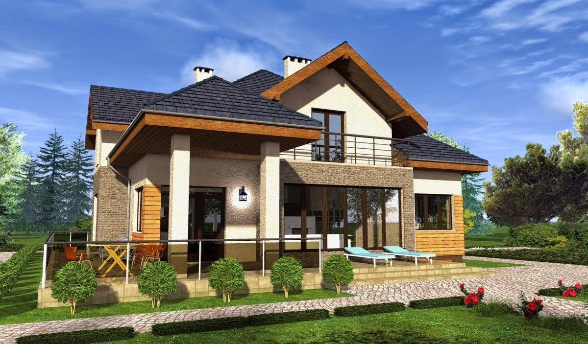 Простые проекты домов