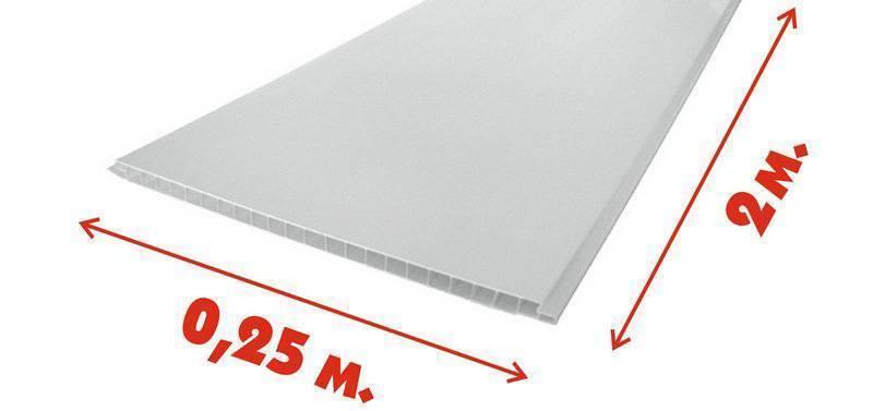Потолочные панели пвх: размеры и цены пластиковых бесшовных и длина зеркальных