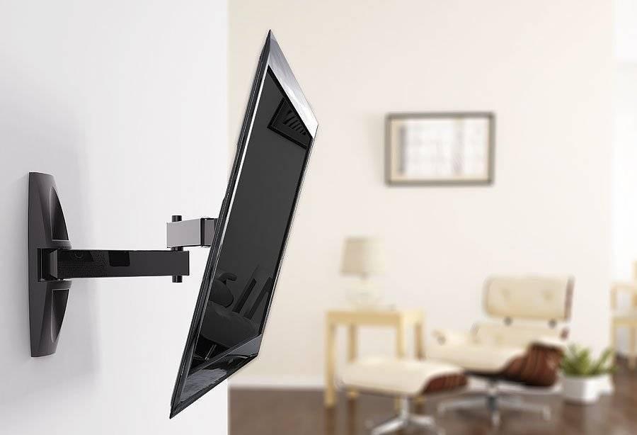Установка телевизора на стену своими руками: видео с инструкцией