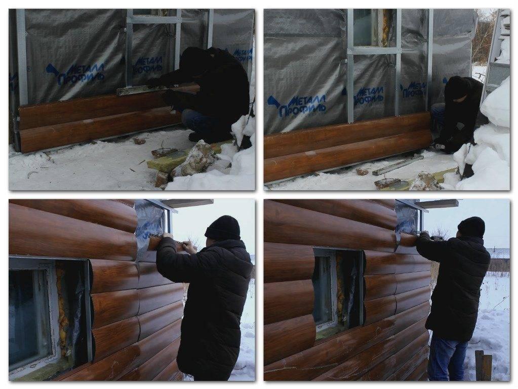 Блок-хаус - монтаж своими руками, простое выполнение работ
