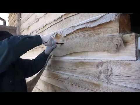 Как правильно конопатить дом из бруса?