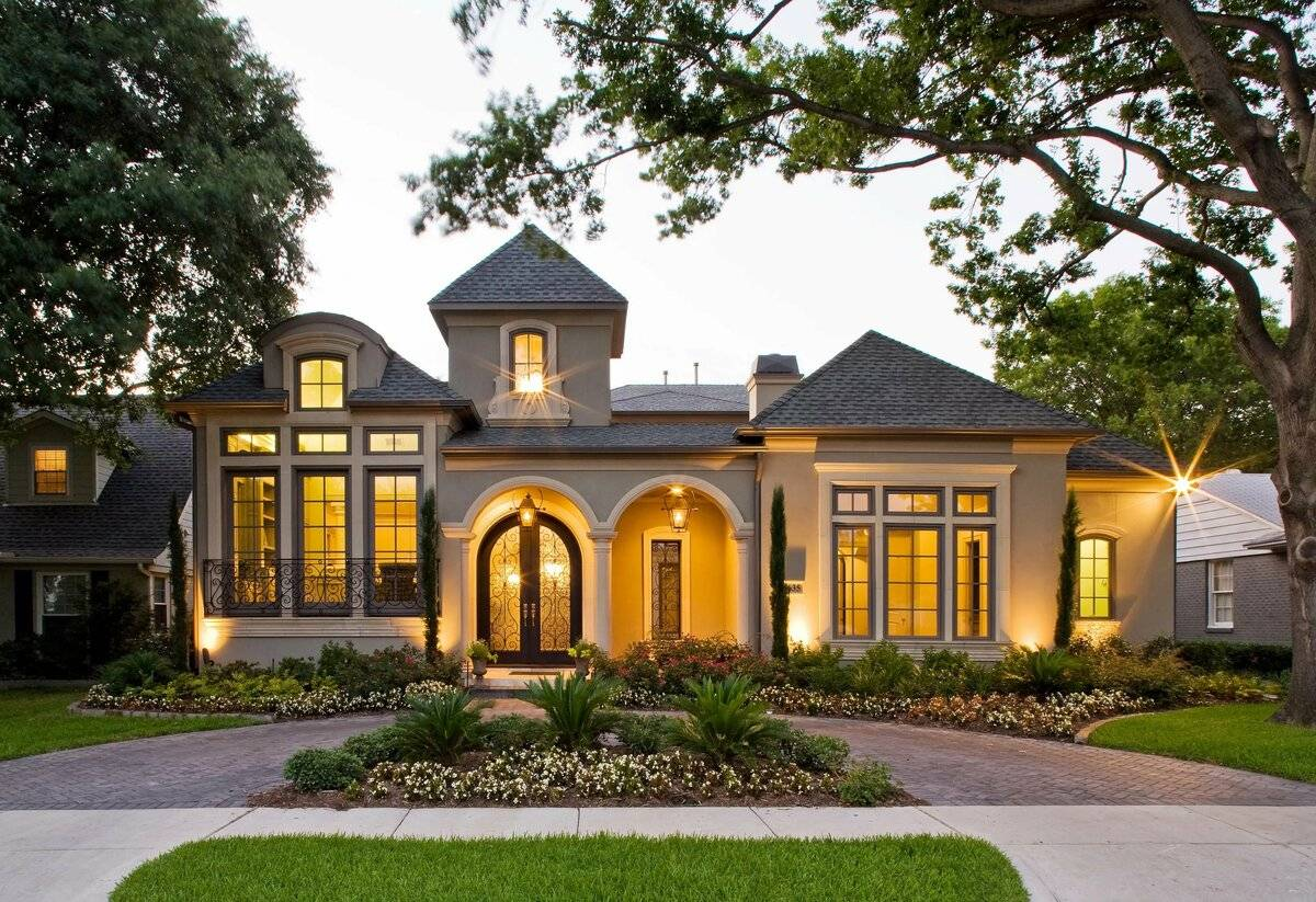 Фото частных домов – лучшие современные проекты и красивые идеи наружного и внутреннего оформления