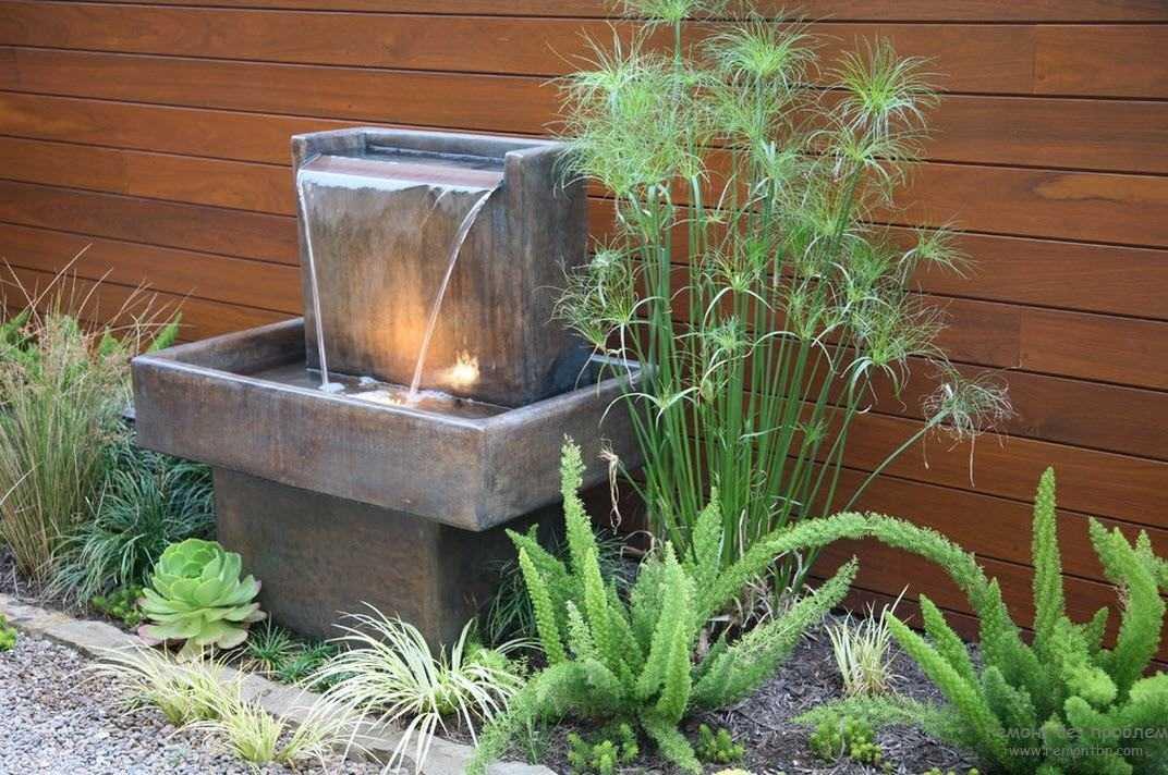 Водопад своими руками: от техники к компонентам и декору