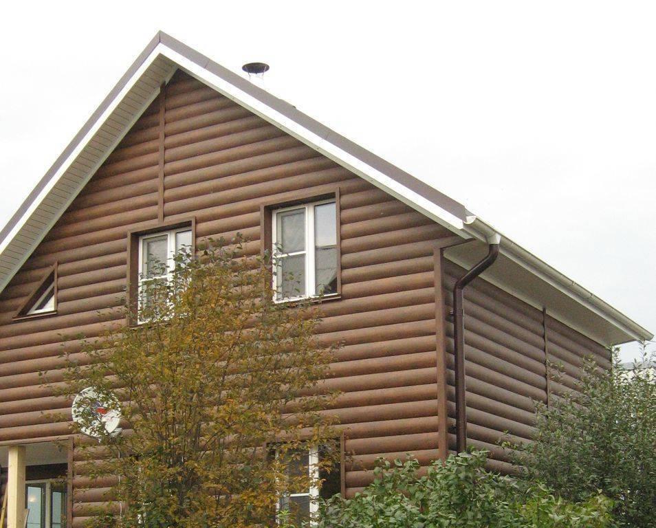 Блок хаус виниловый под бревно - инструкция с фото и видео