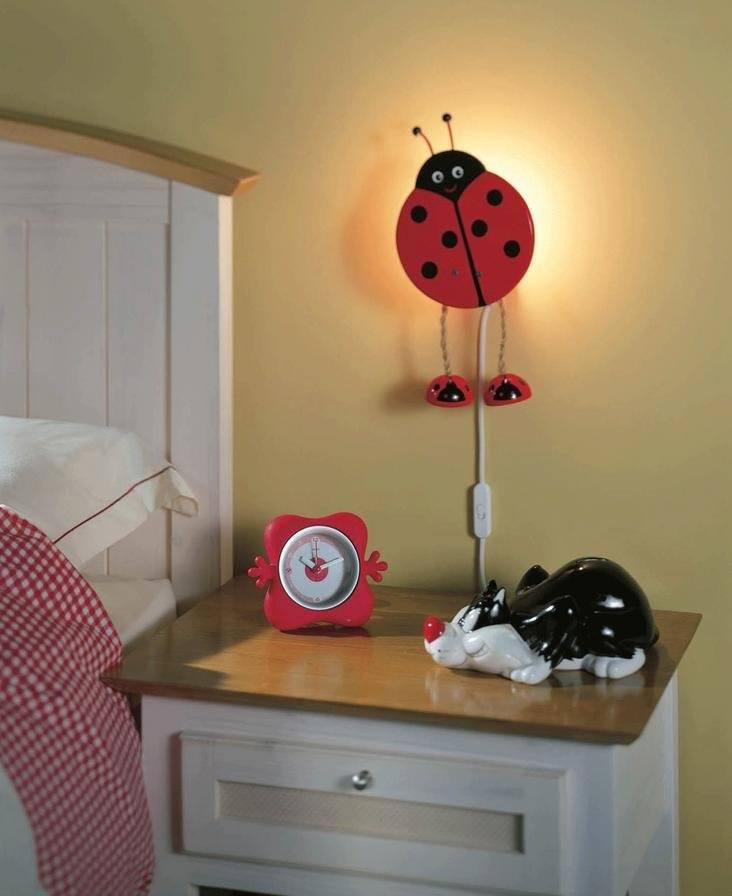 Как выбрать ночную лампу для детской комнаты