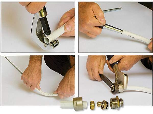 Монтаж металлопластиковых труб: водопровод своими руками, как правильно монтировать, прокладка, разводка водоснабжения, монтаж