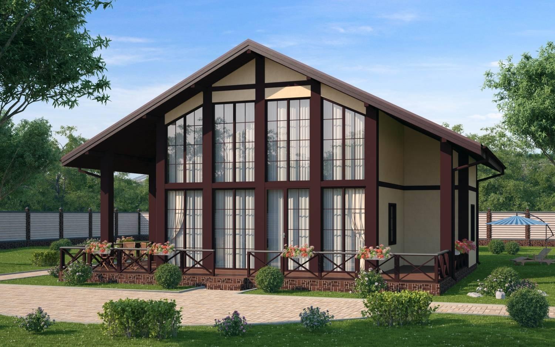 Каркасные дома с панорамными окнами под ключ в ярославле проекты и цены
