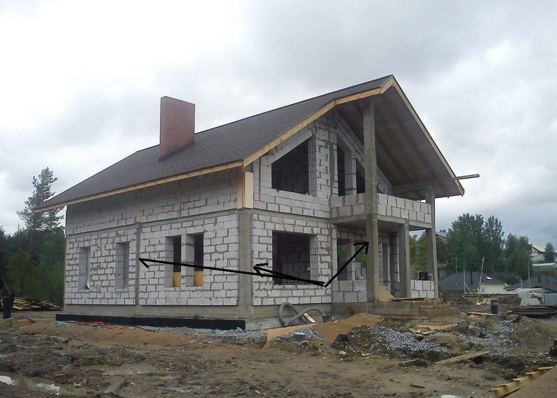Проекты домов и коттеджей из газоблоков и газобетона