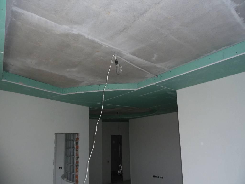 Как быстро и правильно снять листы гипсокартона с потолка
