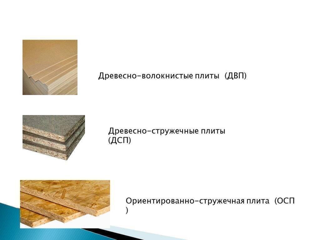 Двп - что это такое? где применяют материал? :: syl.ru