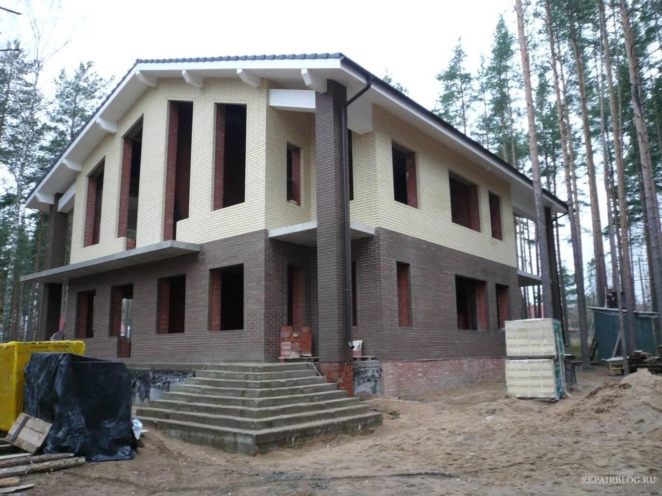 Монолитный жб каркас: частного дома, стен здания