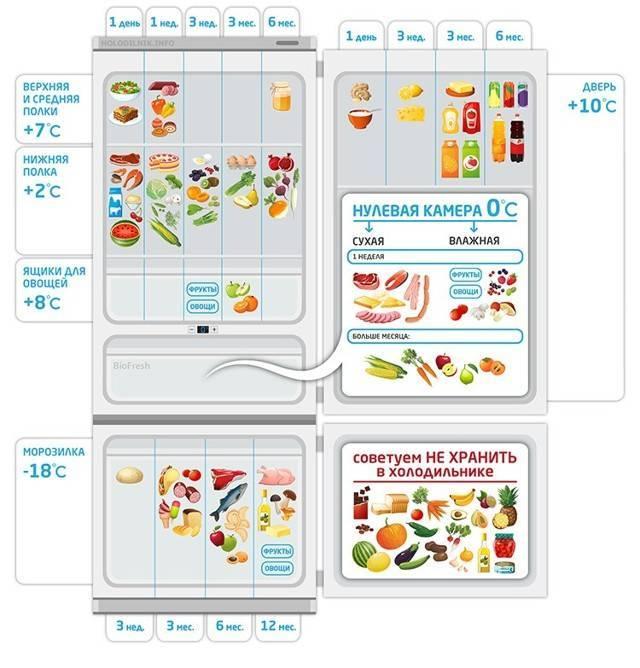Как подобрать оптимальный температурный режим в холодильной и морозильной камере: особенности распределения холода, как определить температуру, советы и рекомендации экспертов