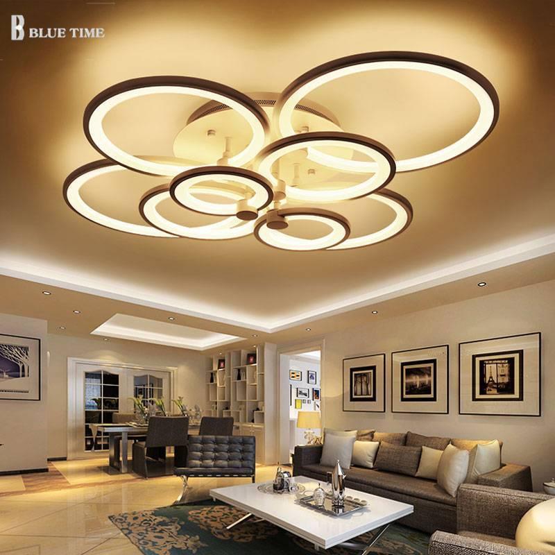 Светодиодные люстры для дома: виды, выбор, фото