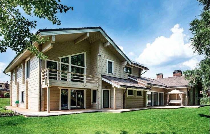 Одноэтажные деревянные дома: проекты и преимущества