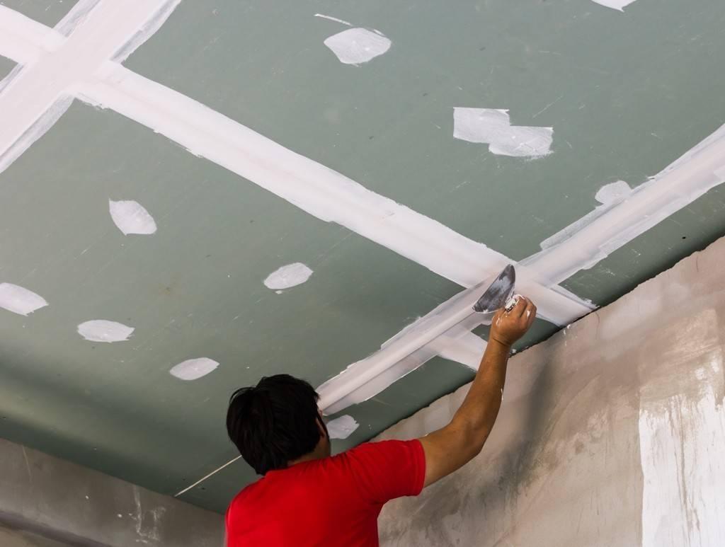 Как правильно выровнять потолок своими руками