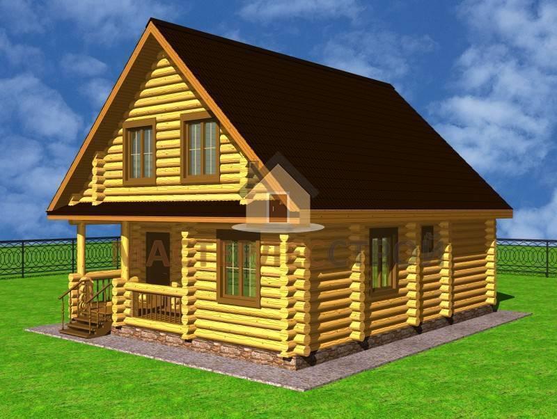 Cтроительство домов из оцилиндрованного бревна