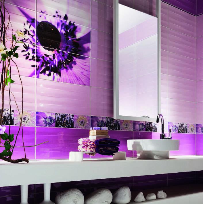 Напольная плитка для ванной комнаты — виды и характеристики (фото, видео)