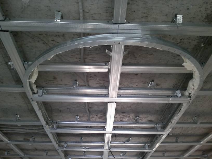 Потолок из гипсокартона своими руками в квартире: видео-инструкция по монтажу своими руками, цена, фото