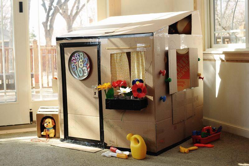 Домик для детей своими руками. фото