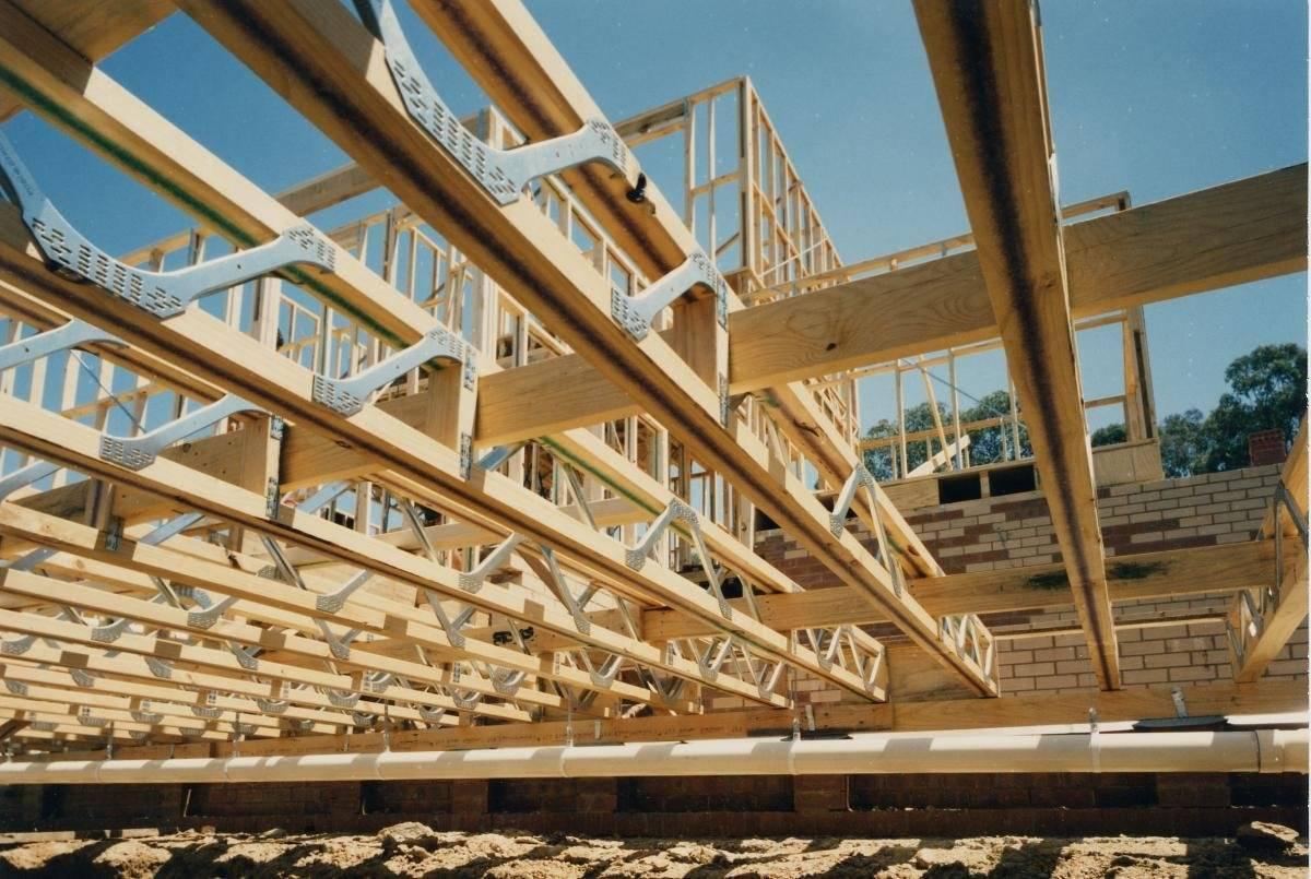 Двутавровые балки перекрытия деревянные: характеристики
