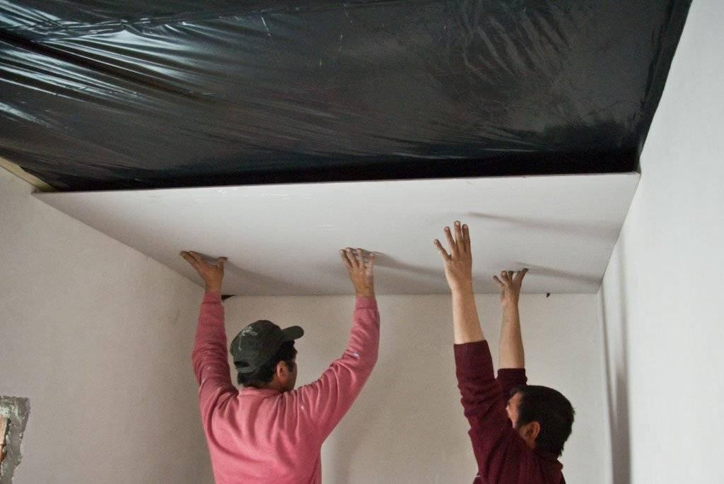 Натяжные потолки или гипсокартон: что лучше?