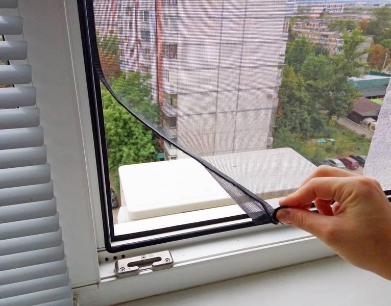 Москитная сетка своими руками на пластиковые окна