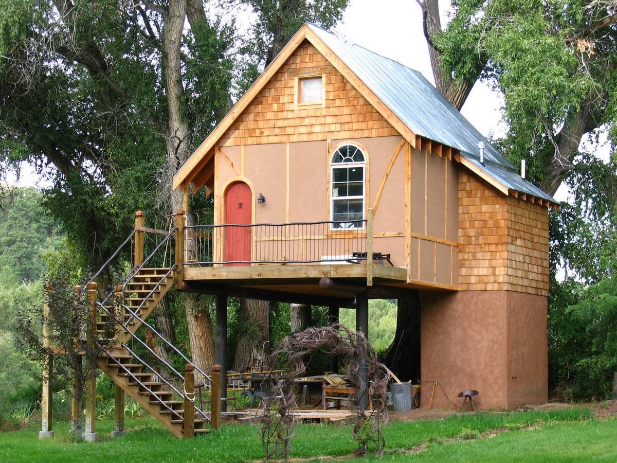 Дачный домик своими руками — 45 фото, проекты, идеи