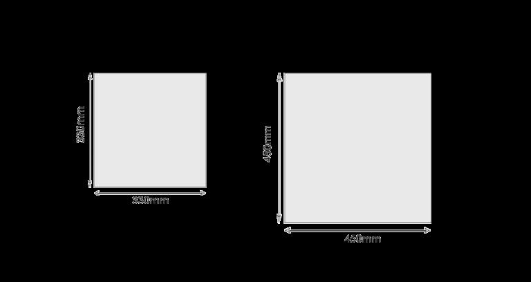 Размеры керамической плитки для стен: для ванной, кухни, прихожей
