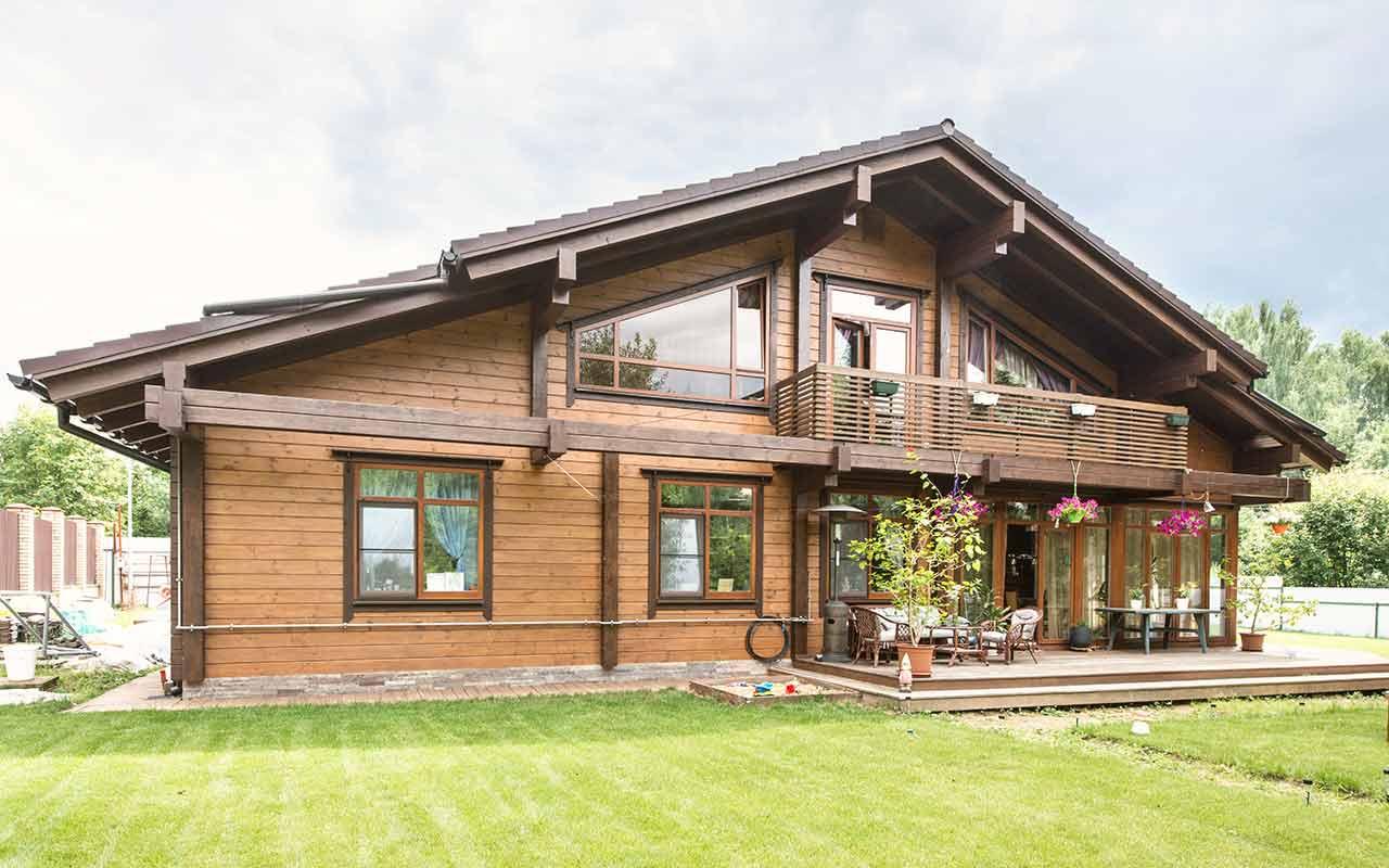 Архитектура дома в стиле шале, фото – rehouz
