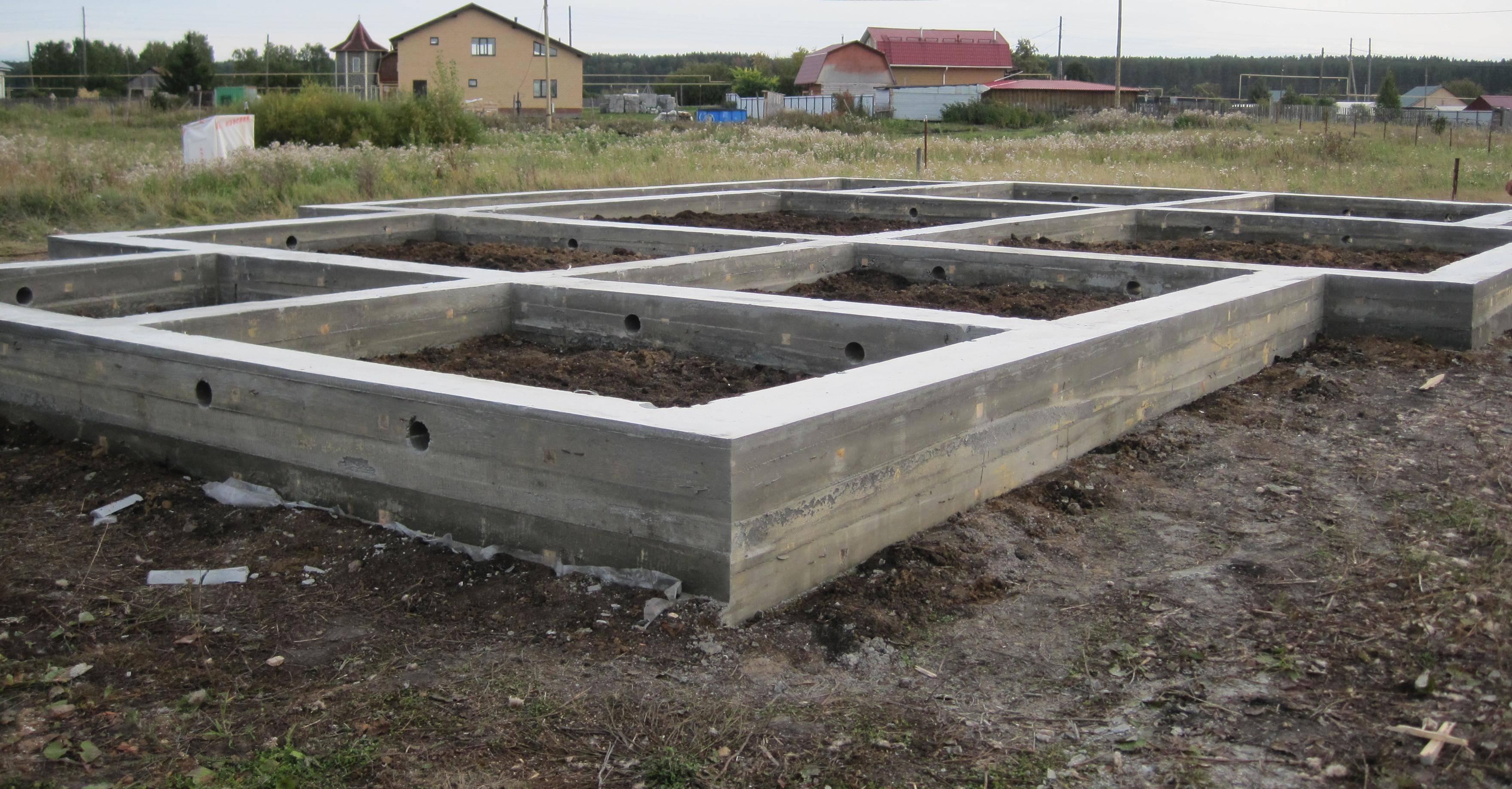 Как выбрать тип и размер фундамента под сруб 6х6 м