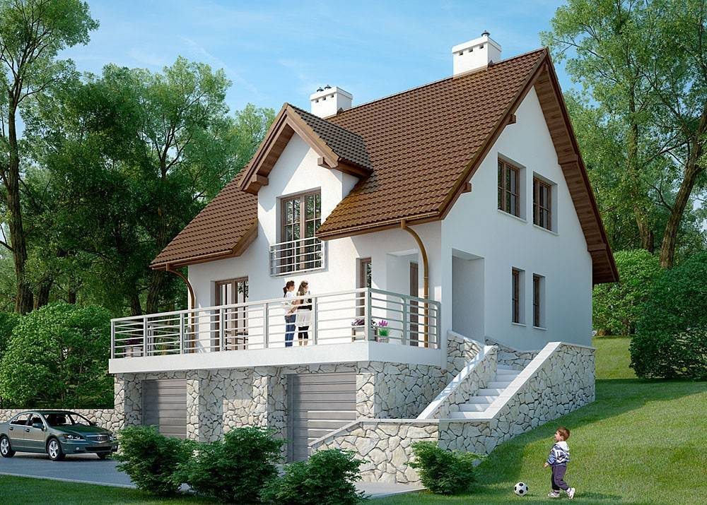 Эксклюзивные проекты элитных домов, коттеджей и особняков