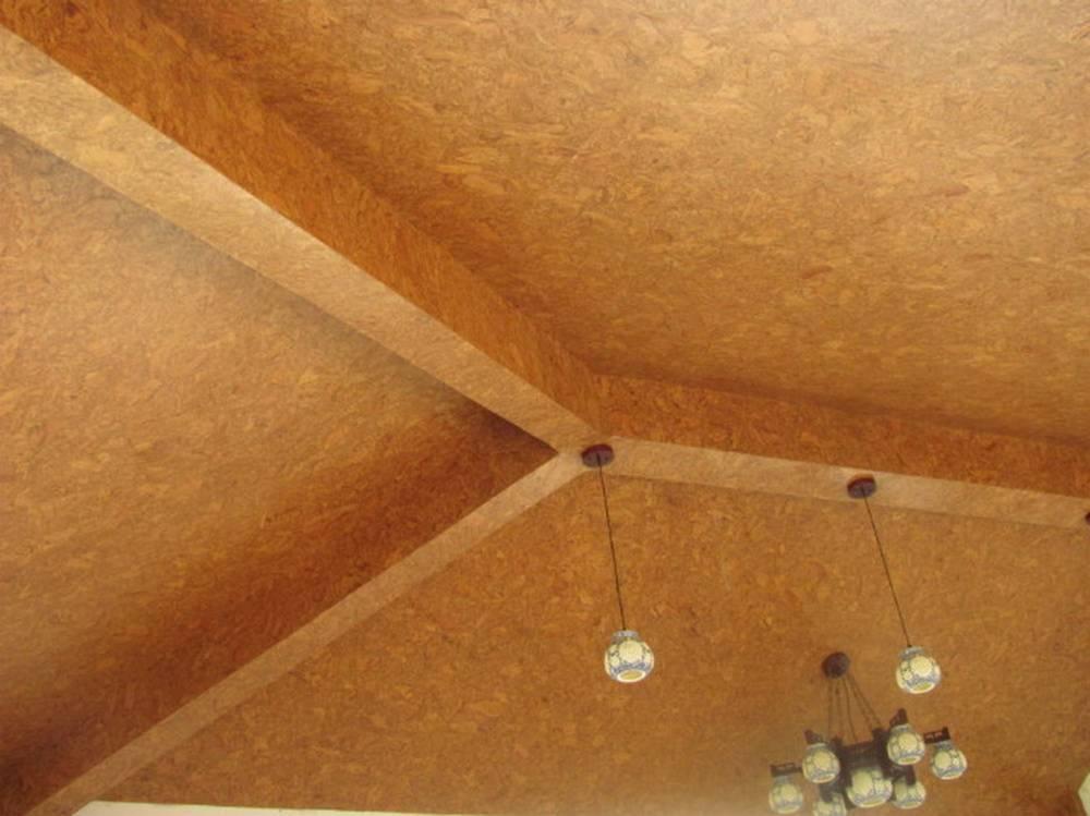 Пробковое покрытие для звукоизоляции потолка в квартире и варианты укладки