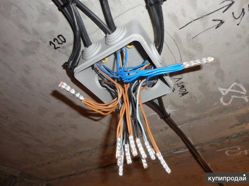 Электрика в квартире или доме. как соединить провода в распределительной коробке