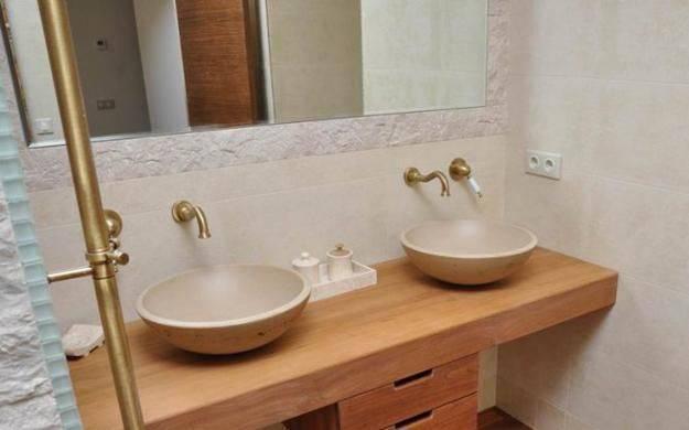 Как сделать столешницу под раковину для ванной комнаты самостоятельно