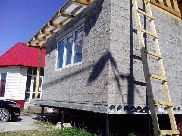 Строительство разных домов на свайно-винтовом фундаменте: фото, видео | сделай сам