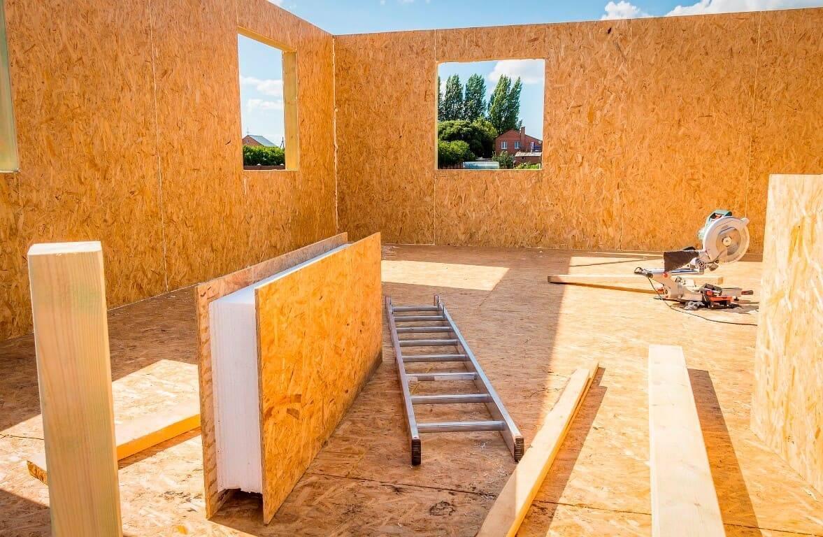 5 советов по внутренней отделке дома из сип-панелей  | строительный блог вити петрова