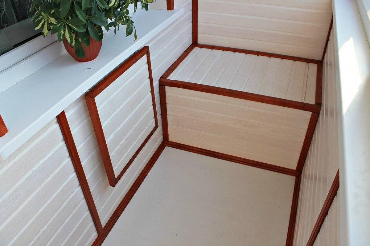 Как обшить балкон деревянной вагонкой своими руками