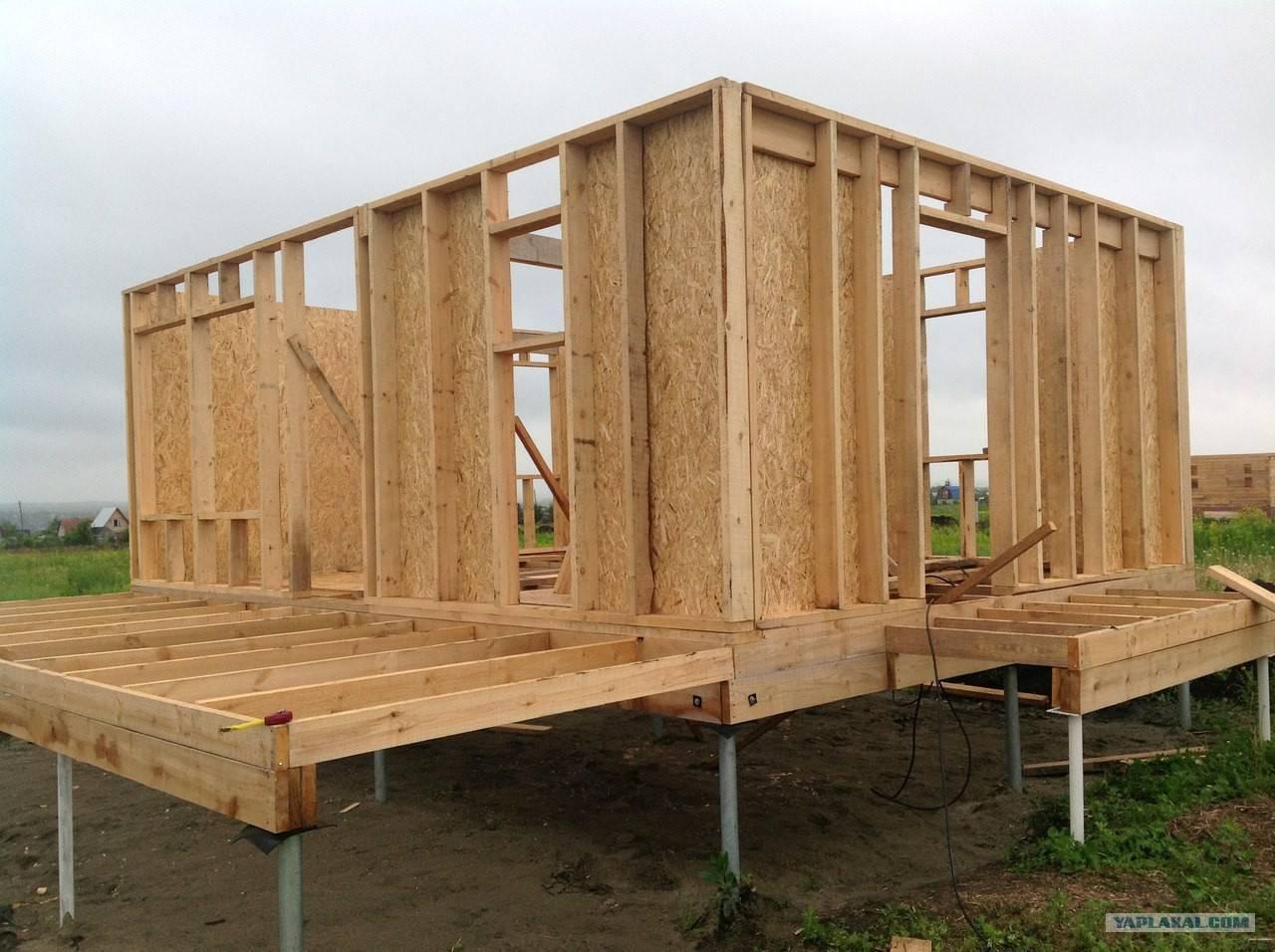 ????отделка каркасного дома: нюансы и выбор материала - блог о строительстве