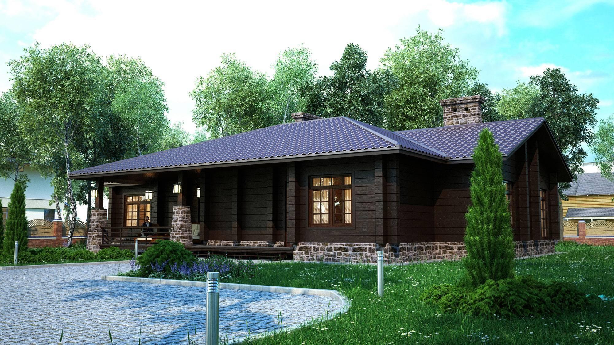 Одноэтажные финские деревянные дома: особенности проектов и их стоимость