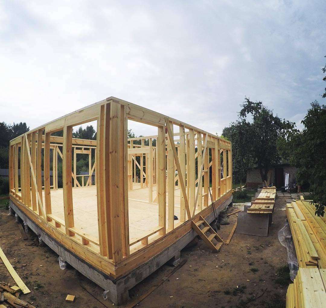 Финская и канадская технологии строительства построек. | karkasnydom