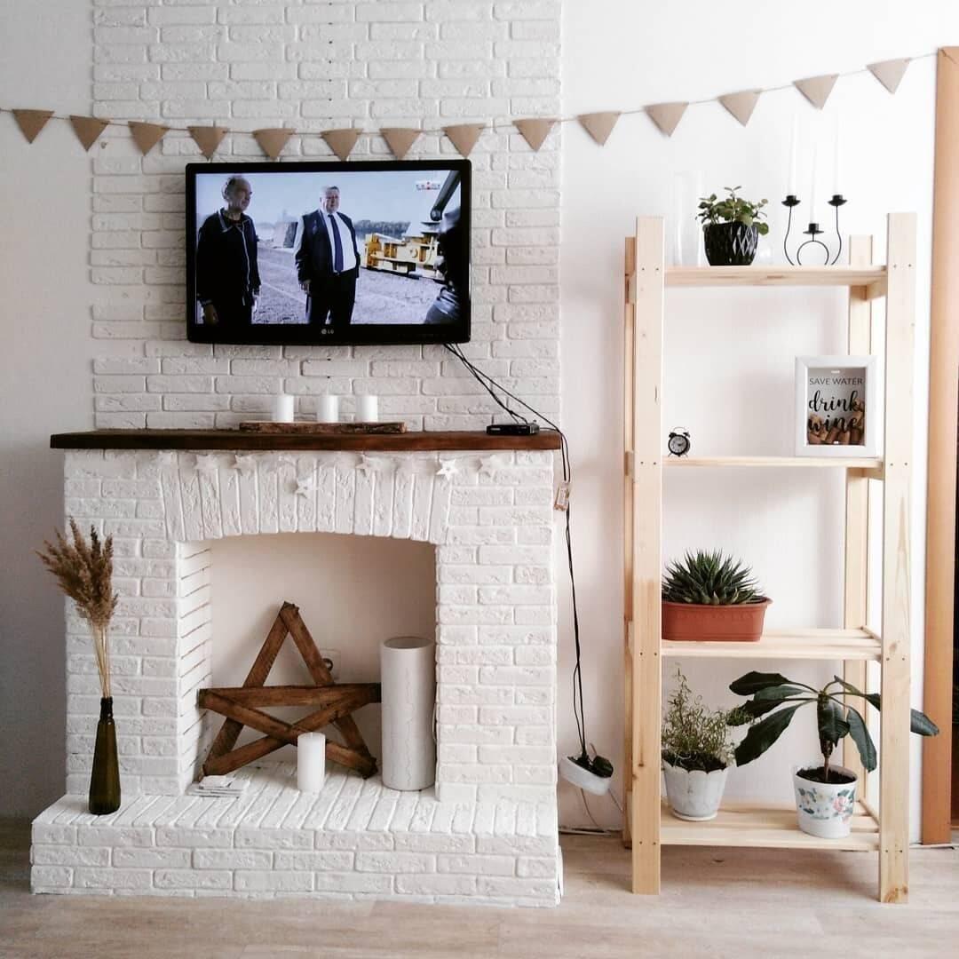 Декоративный камин своими руками — лучшие идеи как оформить камин. 105 фото идей постройки декоративного камина