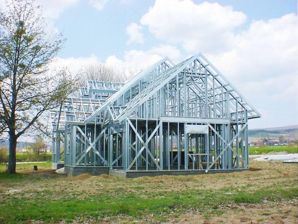 Строительство дома из металлического каркаса (лстк)