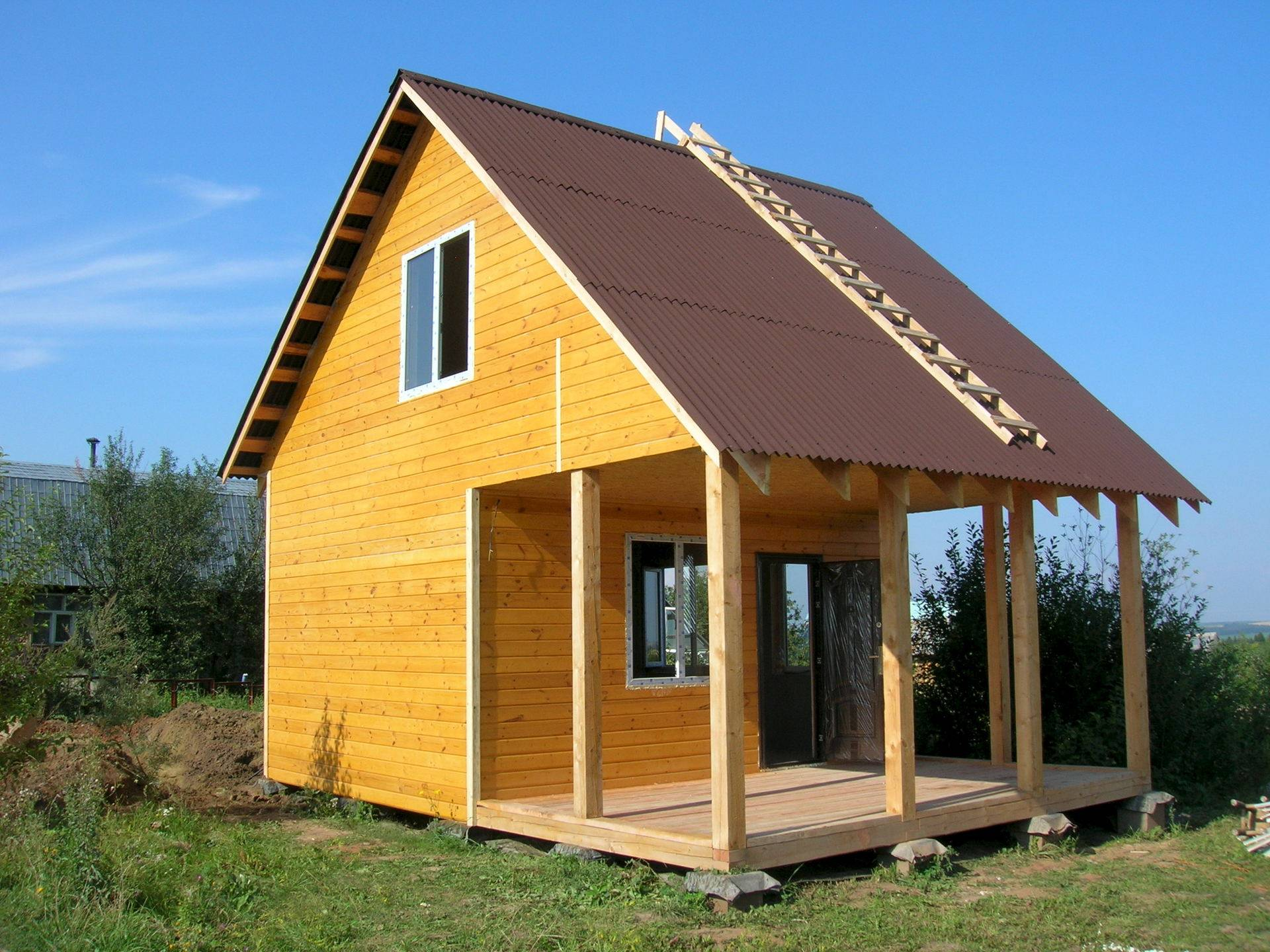 ????постройка недорогого каркасного дома - блог о строительстве