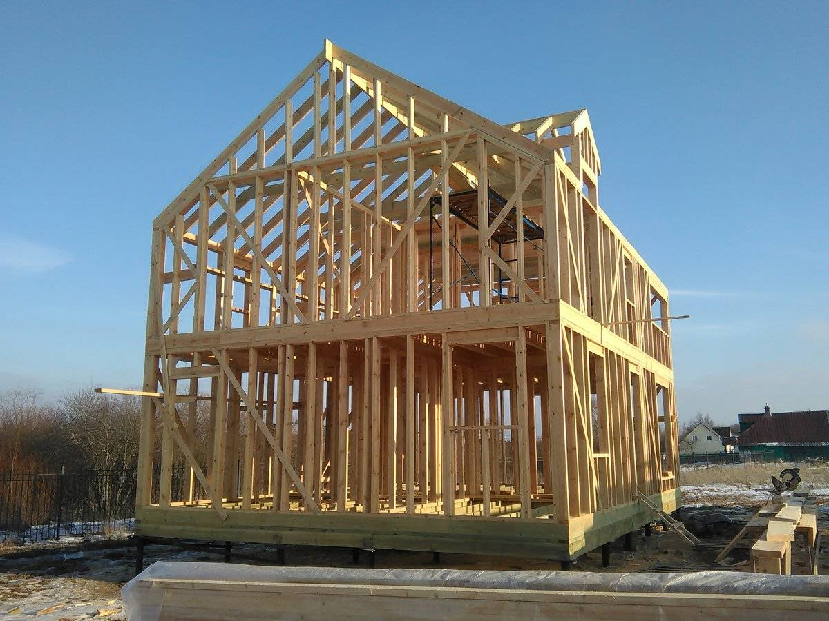 Преимущества каркасно-щитовых домов при строительстве и в процессе эксплуатации